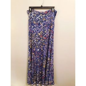 New never worn Lularoe Maxi skirt